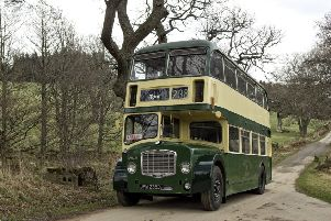 The 1966 Bristol will be used to carry cruise ship passengers between the museum and Craigievar Castle. Picture: Grampian Transport Museum