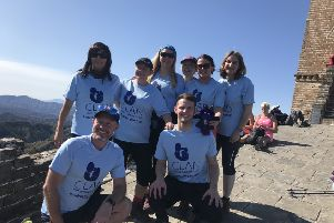 The 2019 trek raised more than �22,000 for the charity