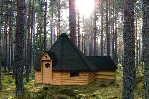 Work on the first six bothies started last November