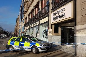 Topshop On Princes Street Closed Over Safety Concerns