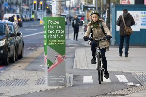 Edinburgh should have dealt with safety issues before encouraging the growth in cycling. Picture: Alistair Linford