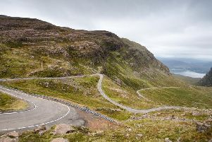 Bealach Na Ba is arguably the toughest hill climb for cyclists in Scotland (Photo: Shutterstock)
