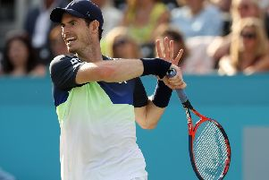Andy Murray put on a fine display against Nick Kyrgios. Pic: Getty