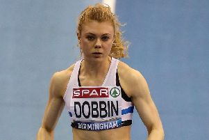 Beth Dobbin broke the Scottish 200m record earlier this month