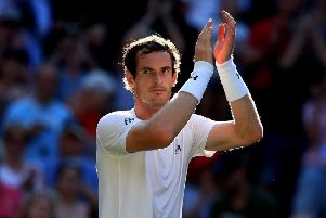 Andy Murray has given a strong indication that he will compete at Wimbledon. Picture: PA