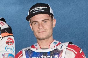 Richie Worrall enoys racing round Armadale