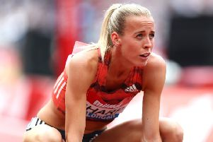 Lynsey Sharp is keen to make up for a poor World Championship last year by running to form in Berlin