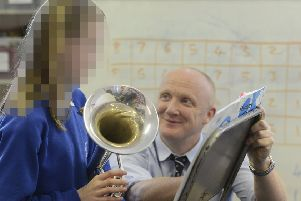 Music teacher Simon Reeves. Picture: Neil Hanna