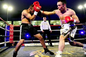 Thomas Dickson is gutted his Scottish lightweight title bid has been put on hold