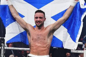 Josh Taylor is through to the semi finals of the World Boxing Super Series. Pic: SNS