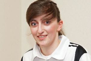 Dee Hoggan, pictured, Emma Logan of East Lothian, Lorraine Craig of Balbardie and Stacey McDougall of Midlothian have been named in the line-up for the ladies Home International Series at Falcon IBC in Essex in March