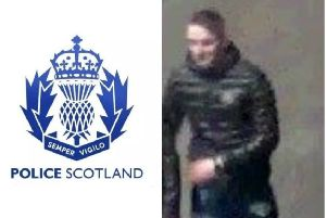 Police wish to speak with the man pictured.