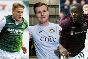 Edinburgh three league clubs are all in action today. Pictures: SNS Group