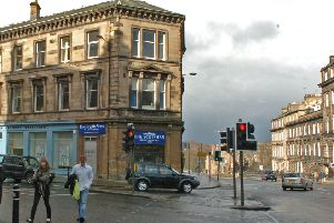 Thieves targeted a newsagents at Lynedoch Place and made off with cash and goods worth thousands of pounds. Picture: Bill Henry
