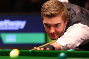 Ross Muir was in excellent form against Neil Robertson. Pic: TSPL