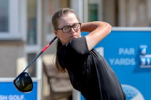 Hannah Darling is the Under-16 Open champion and Scottish Girls' title holder