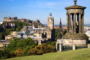 Which street has topped Edinburgh's most expensive list? Picture: Thinkstock