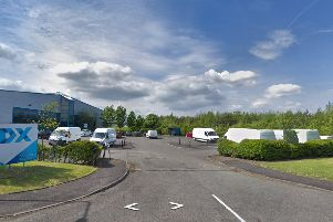 Young's fish processing unit  in Livingston. Picture: JP