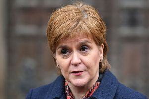 The First Minister spoke out after a meeting of her Cabinet