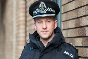 Chief Inspector Davie Robertson is the new Local Area Commander for South East Edinburgh. Picture: Ian Georgeson
