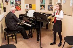 Midlothian Council has put forward plans to axe instrumental music tuition in schools except for pupils in S4 and higher taking SQA music exams. Picture: Ian Georgeson