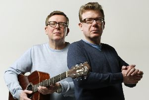 The Proclaimers made a touching tribute to Doddie Weir. Picture: TSPL