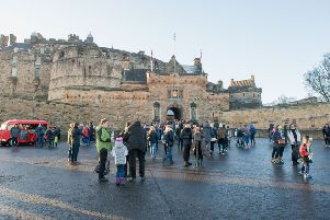 A general view of Edinburgh Castle. Picture: Ian Georgeson