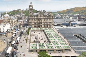 An artist's impression of the new Waverley Mall roof, which got the green light this week