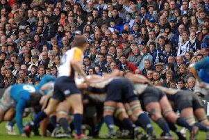 There are a few rules about what Murrayfield spectators can and can't bring inside the stadium (Photo: Shutterstock)