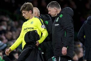 Ryan Gauld had to be substituted in midweek and will miss Saturday's cup clash with Raith Rovers