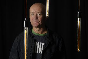 Irvine Welsh is a big Hibs supporter. Picture: Neil Hanna