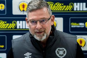 Craig Levein was in an impish mood following his side's Scottish Cup victory over Auchinleck Talbot. Picture: SNS Group