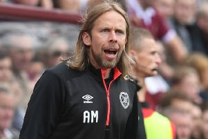 Hearts assistant manager Austin MacPhee. Picture: SNS