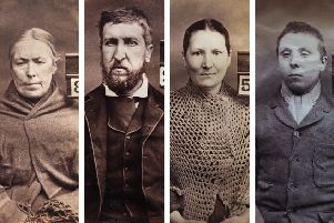 Thief Matilda Brown, fraudster James Fleming, repeat offender Catherine O'Hara and housebreaker Luke Gillon all feature in the exhibition of 18th Century prison mugshots. PIC: Aberdeen City and Shire Archives.