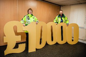 The Penicuik Community First Responders were awarded �500 last year from the �10,000 bursary pot