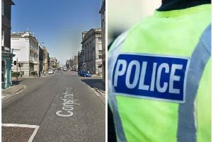 The attack happened in Leith. Pic: Google Maps/Police Scotland