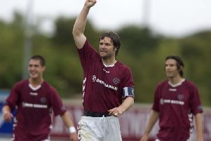 Hearts 1-0 win over Inverness in September 2005 made it eight consecutive wins. Picture: SNS