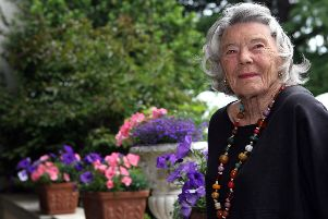 British author Rosamunde Pilcher in 2007.  (Photo by Adam Berry/Getty Images)