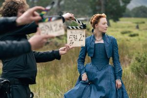 Universal's epic historical drama, Mary Queen of Scots.