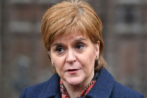 Nicola Sturgeon will be a guest at Edinburgh Chamber of Commerce's Women in Business lunch this month. Picture: PA
