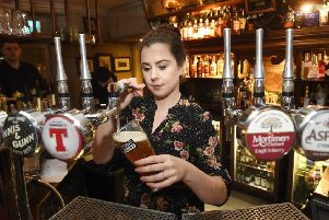 The re-opening of the Sheep Heid in Duddingston which has had some refurbishment work done and opens fully to the public this Saturday. Pictured is General Manager Chlo� Herbert. Pic: Greg Macvean