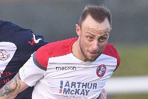 Michael Herd is desperate to win some silverware for Spartans boss Dougie Samuel