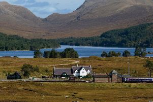 Hard working people with a love of the outdoors are needed for the summer at Station House restaurant at Corrour, which is accessible only by train or  a 20-mile walk. PIC: Corrour Estates.