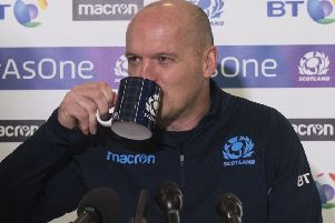 Gregor Townsend is looking forward to Paris, despite injury problems