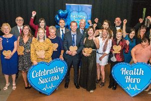 The winners from the Celebrating Success Awards 2018. Picture Copyright Chris Watt