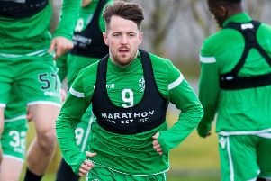 Marc McNulty knows the importance of Hibs' trip to Dens Park