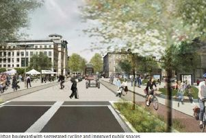 How Lothian Road could be transformed, Picture: Edinburgh Council