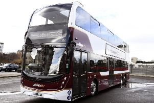 The Alexander Dennis Enviro400 XLB buses will begin operating on the 11 and 16 routes in March.