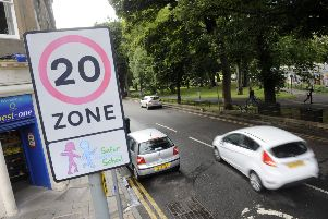 The plans would extend 20mph limits to most 30mph roads with street lights. Picture: Greg Macvean