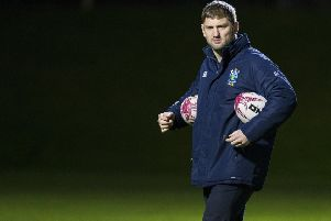 Steve Lawrie will join Edinburgh's coaching staff in the summer. Picture: SNS Group